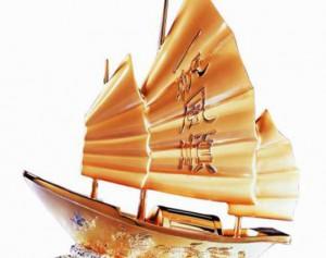 Thuyền buồm phong thủy phải được đặt đúng vị trí mới mang lại may mắn, tài vận