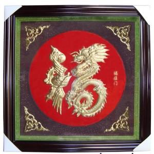 Rồng và Phượng vốn là biểu tượng rất cao qúy nằm trong bộ Tứ Linh.