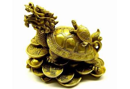 Đặt rùa đầu rồng ở đâu thì đem lại may mắn