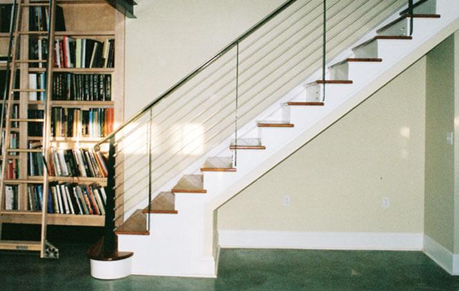 phong thuy cau thang1 Một số điều cần tránh khi lắp đặt cầu thang trong không gian sống