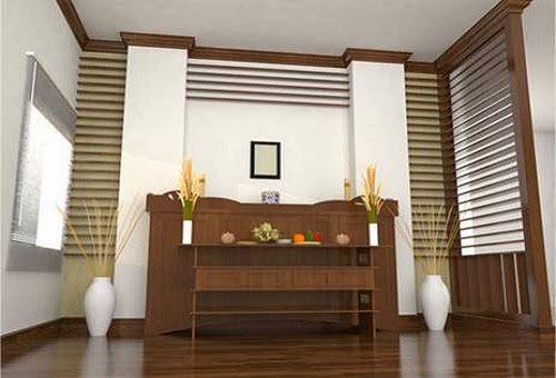 phong thủy bàn thờ nhà chung cư