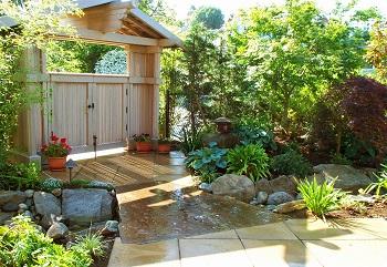 Mở cổng nâng cao vận khí cho ngôi nhà