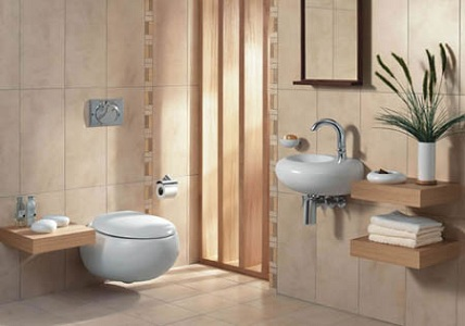 Nhiều ánh sáng, thông gió tốt và sạch sẽ là những yếu tố rất cần thiết cho một phòng vệ sinh hợp phong thủy.