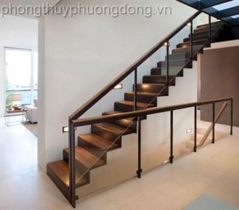 Thiết kế phong thủy cầu thang nhà phố