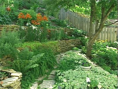 mát dịu và ấn tượng với khu vườn thiết kế phong thủy