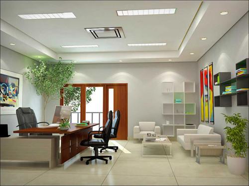 Hãy để vào phòng làm việc của bạn một chậu cây xanh tươi tốt