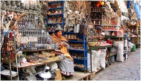 Khu chợ bùa chú và đồ vật trấn yểm ở châu Phi