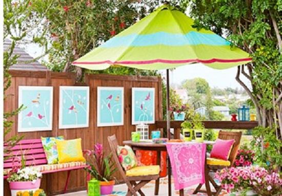 phong thuy nha o san vuon Thiết kế sân vườn tránh nóng mùa hè