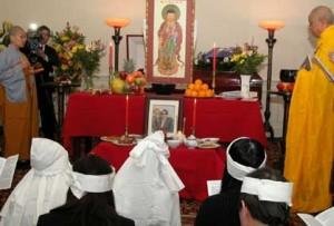 Văn khấn tang lễ - Văn khấn lễ chúc thực