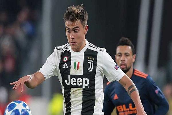Paulo Dybala rời Juventus