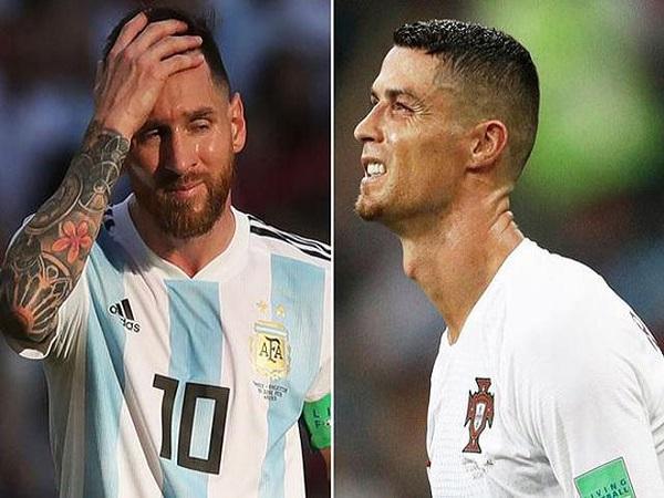 Messi vĩ đại nhưng vẫn thua Ronaldo
