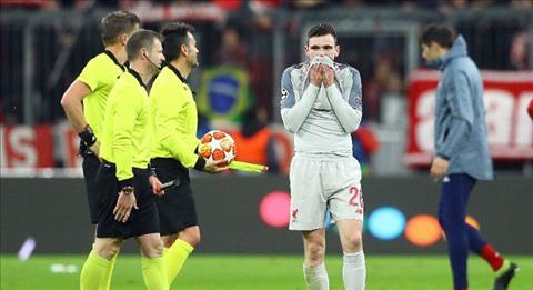 Andrew Robertson khiến HLV Kloop nổi điên sau chiến thắng Bayern