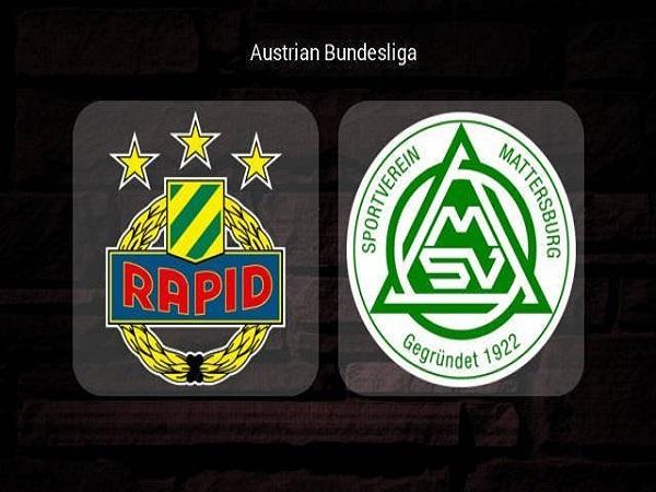 Soi kèo Rapid Wien vs Mattersburg, 0h00 ngày 29/05