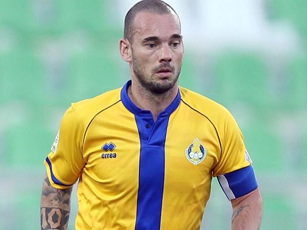 Siêu tiền vệ Wesley Sneijder chính thức giải nghệ ở tuổi 35