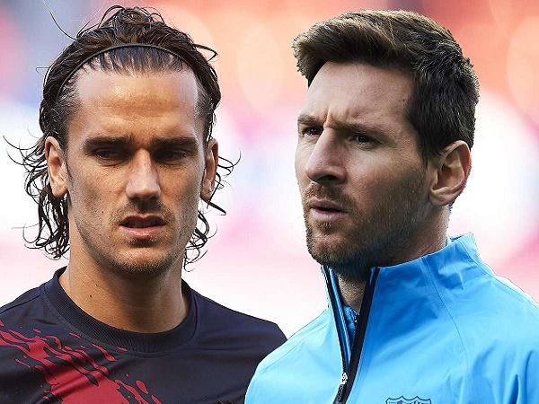Griezmann thừa nhận khó kết nối với Messi