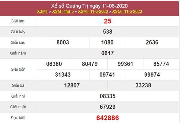 Soi cầu KQXS Quảng Trị 18/6/2020 cùng các siêu cao thủ