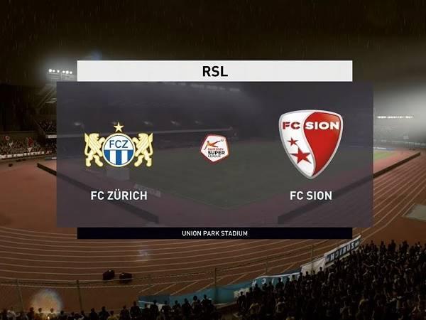 Soi kèo Zurich vs Sion 01h30, 29/07 - VĐQG Thụy Sĩ