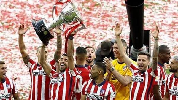Tân vương La Liga Atletico Madrid tiếp tục nhận tin vui
