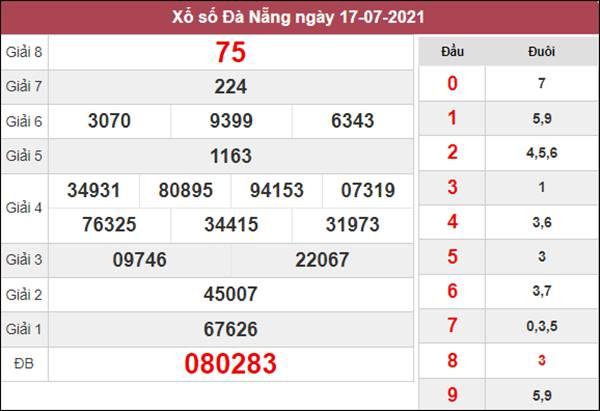 Phân tích XSDNG 21/7/2021 chốt số đẹp Đà Nẵng thứ 4